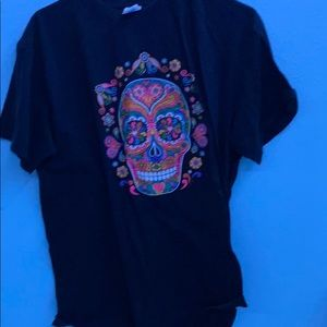 Day of the dead Halloween shirt